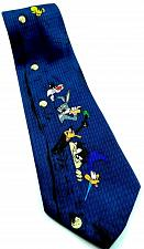 Buy Looney Tunes Bugs Daffy Taz Road Runner Tweety Poking Out of Shirt Novelty Tie