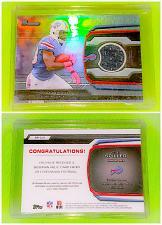 Buy NFL CJ Spiller Buffalo Bills 2013 Bowman Game-worn Jersey Mint