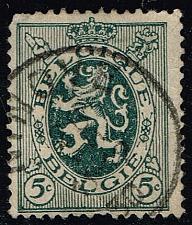 Buy Belgium #201 Heraldic Lion; Used (0.25) (1Stars) |BEL0201-08XRS