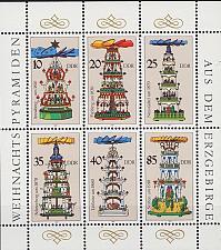 Buy GERMANY DDR [1987] MiNr 3134-39 KB ( **/mnh )