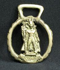Buy RARE SMALL Devil Demon Horse Brass Medallion Harness Vintage