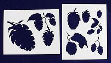 "Buy Hops-2 Piece Stencil Set 14 Mil 8"" X 10"" Painting /Crafts/ Templates"