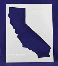 """Buy State of California Stencil 14 Mil 8"""" X 10"""" Painting /Crafts/ Templates"""