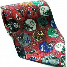 Buy NFL Football Team Helmets Giants Cardinals Dolphins Raiders 49ers Novelty Tie