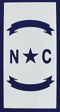 "Buy North Carolina Union Stencil 14 Mil -10"" x 20"" - Painting /Crafts/ Templates"