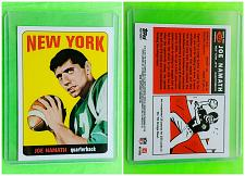 Buy NFL JOE NAMATH NEW YORK JETS HALL OF FAME 2012 TOPPS PRO FOOTBALL #122 MNT