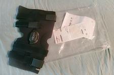 Buy NEW DonJoy KNEE LIGAMENT HINGE BRACE 11-0861-5 Playmaker Pop XL Open Knee Black