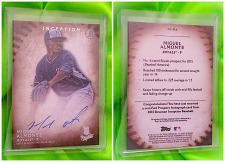Buy MLB MIGUEL ALTAMONTE KANSAS CITY ROYALS AUTOGRAPHED 2015 TOPPS INCEPTION MINT
