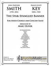 Buy Smith - Star Spangled Banner (arr. Oliver, Concert Band)