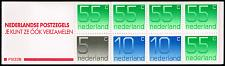 Buy Netherlands #536g Numeral Complete Bklt Pane of 8; MNH (5Stars) |NED0536gcomb-01XRP