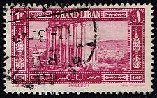 Buy Lebanon #54 Temple of Jupiter at Baalbek; Used (0.80) (3Stars) |LEB0054-01XRS