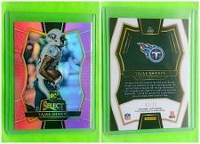 Buy NFL TAJAE SHARP TENNESSEE TITANS 2016 PANINI SELECT PINK REFRACTOR RC SP/15 MNT