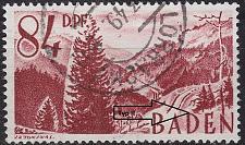 Buy GERMANY Alliiert Franz. Zone [Baden] MiNr 0026 y II ( O/used )