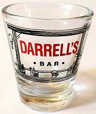 "Buy Darrell's Bar Alcohol 2.25"" Collectible Shot Glass"