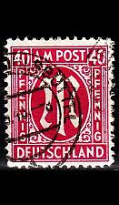 Buy GERMANY Alliiert AmBri [1945] MiNr 0030 c B ( O/used )