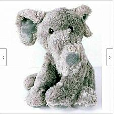 "Buy Aurora Elephant Gray Plush Stuffed Animal 11.5"""
