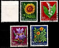Buy SCHWEIZ SWITZERLAND [1961] MiNr 0742-46 ( O/used ) [01] Pro Juventute