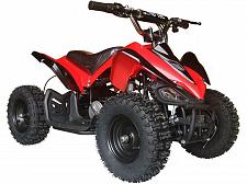 Buy Four Wheeler For Kids 24V Electric Battery Red Mini Quad ATV 350W Outdoor Mars
