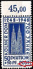 Buy GERMANY Alliiert AmBri [1948] MiNr 0072 ZA_I ( **/mnh )