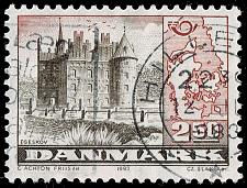 Buy Denmark #735 Egeskov Castle; Used (3Stars)  DEN0735-06XBC