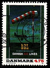 Buy DÄNEMARK DANMARK [1991] MiNr 1014 ( O/used ) Flugzeug