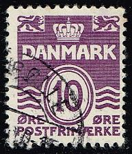 Buy Denmark #230 Numeral; Used (0.25) (3Stars) |DEN0230-09
