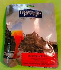 Buy Backpackers Pantry DUMPLINGS WITH CHICKEN 5.5oz.- 2 Servings FACTORY SEALED