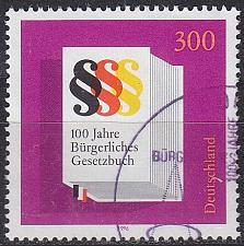 Buy GERMANY BUND [1996] MiNr 1874 ( O/used )