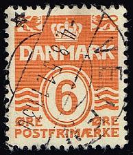 Buy Denmark #224C Numeral; Used (3Stars) |DEN0224C-07XRS