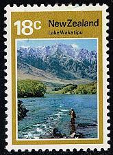 Buy New Zealand #509 Lake Wakatipu; Unused (2.25) (2Stars) |NWZ0509-01