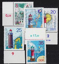 Buy GERMANY DDR [1975] MiNr 2045-49 ( **/mnh )