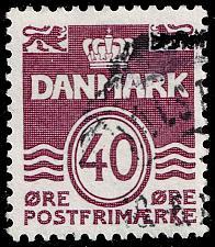 Buy Denmark #689 Wavy Lines; Used (3Stars) |DEN0689-03XBC