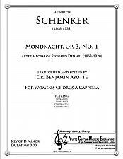 Buy Schenker - Mondnacht [Op. 3, No. 1]