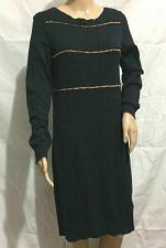 Buy MICHAEL KORS Navy BOATNECK CHAIN Sweater COTTON ANGORA SZ M