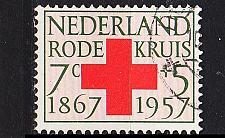 Buy NIEDERLANDE NETHERLANDS [1957] MiNr 0701 ( O/used ) Rotes Kreuz