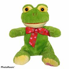 Buy Best Made Toys Valentine Hearts Bow Green Frog Plush Stuffed Animal 2012 8""