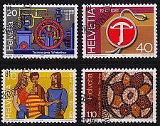 Buy SCHWEIZ SWITZERLAND [1981] MiNr 1206-09 ( O/used )
