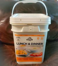 Buy Emergency Food Supply Survival 92 Servings Storage Pail Kit Augason Farms Bucket