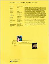 Buy US #SP1473 (3749) Tiffany Lamp Souvenir Page (5Stars) |USASP1473-01