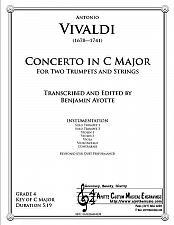 Buy Vivaldi - Double Trumpet Concerto