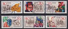 Buy GERMANY DDR [1982] MiNr 2716-21 ( OO/used ) [01] Trachten