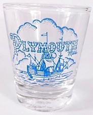 "Buy Plymouth Massachusetts Ship 2.25"" Collectible Shot Glass"