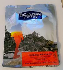 Buy BACKPACKER'S PANTRY CHICKEN AND DUMPLINGS 5.5 OZ 2 SERVINGS SEALED