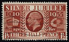 Buy Great Britain #228 Silver Jubilee Issue; Used (0.60) (3Stars) |GBR0228-02XRS