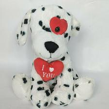 Buy Goffa Dalmatian Valentine Dog Love Heart I Love You Plush Stuffed Animal 11.5""