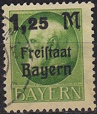 Buy GERMANY Bayern Bavaria [1919] MiNr 0174 A ( O/used )