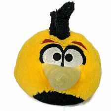 "Buy Angry Birds Bubbles Yellow Bird Talking Plush Stuffed Animal Commonwealth 5"""