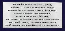 Buy Preamble of Constitution -USA -1 Piece Stencil Painting /Crafts/ Templates