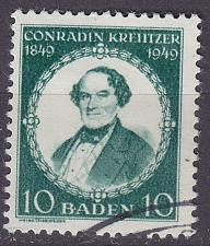 Buy GERMANY Alliiert Franz. Zone [Baden] MiNr 0053 I ( O/used )