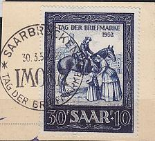 Buy GERMANY Saar [1952] MiNr 0316 ( O/used )